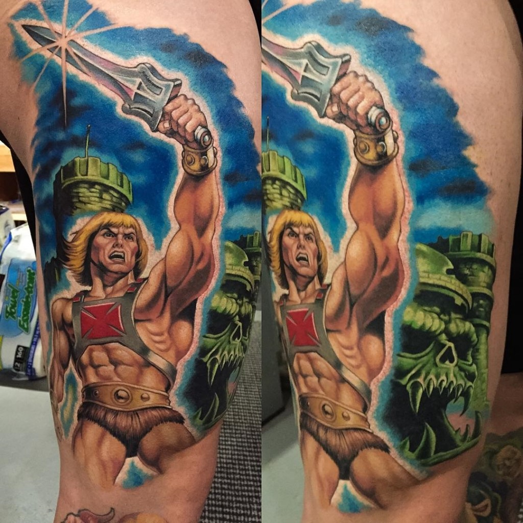 He-man Tattoo