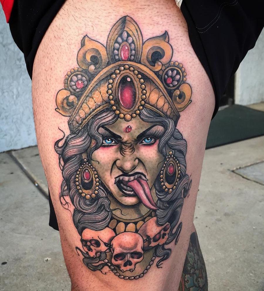 Kali Godess Tattoo