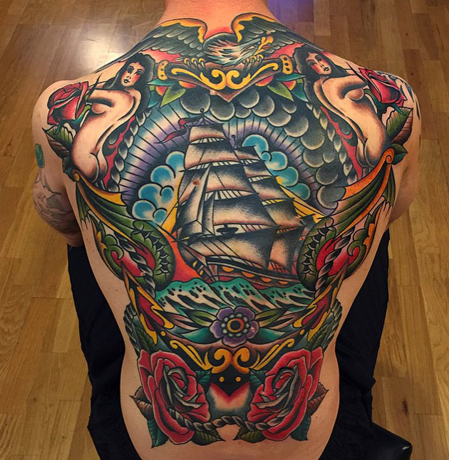 Retro Sailors Tattoo