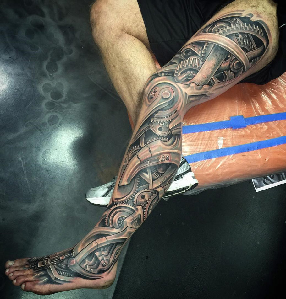 Biomechanical Leg