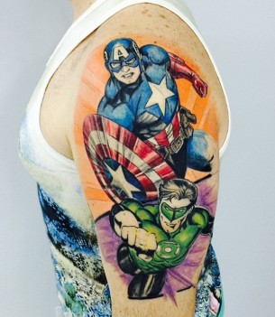 Captain America Sleeve