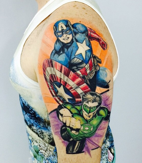 Captain America Sleeve