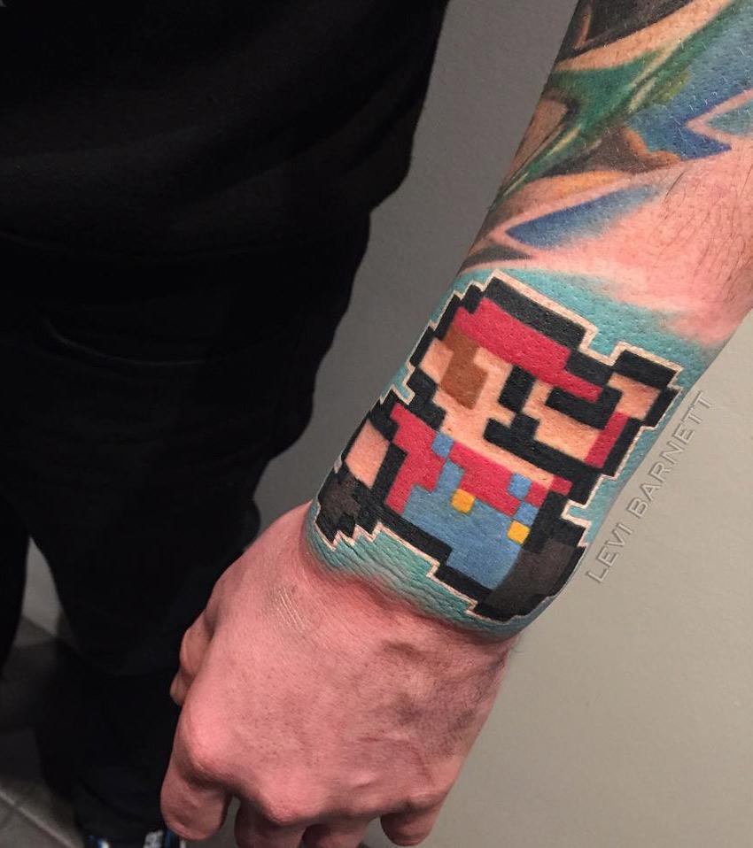 8-bit tattoo