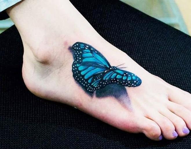 Pretty 3D Butterfly