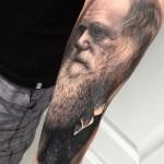 Charles Darwin Portrait