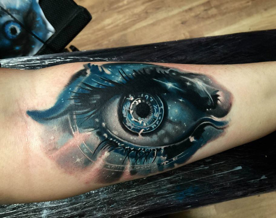 Starry Eye Tattoo