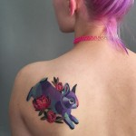 Bunny Back Tattoo