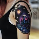 Hogwarts Tattoo
