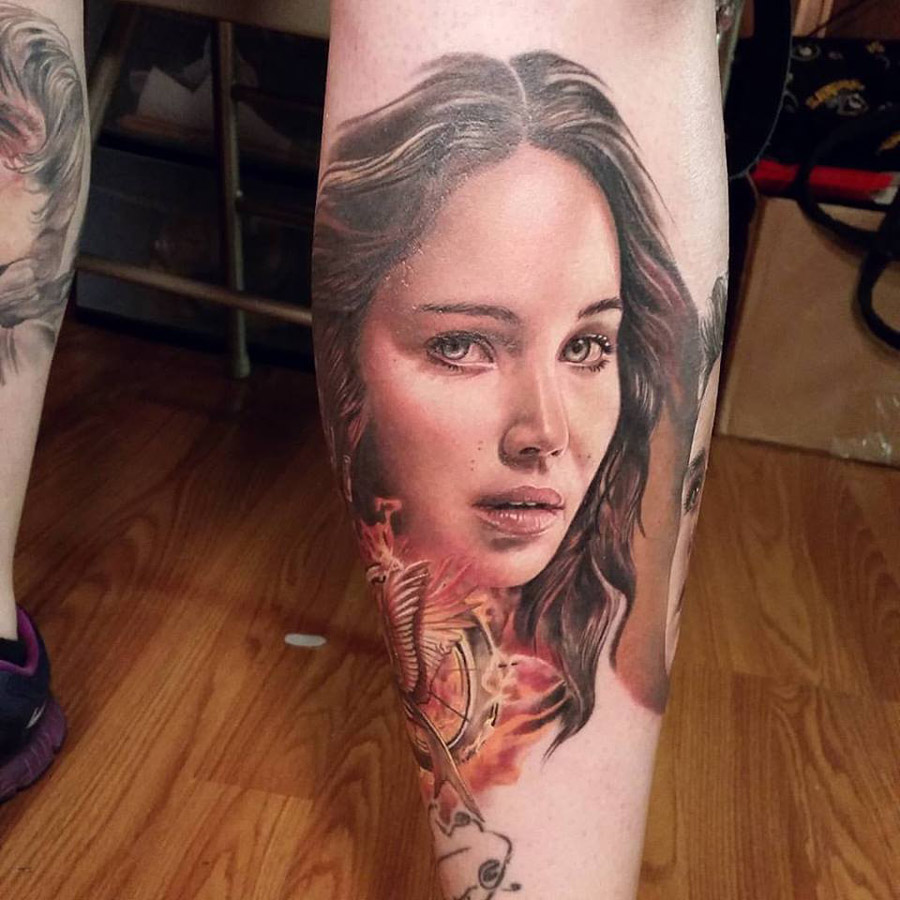 Katniss tattoo