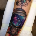Galaxy tattoo