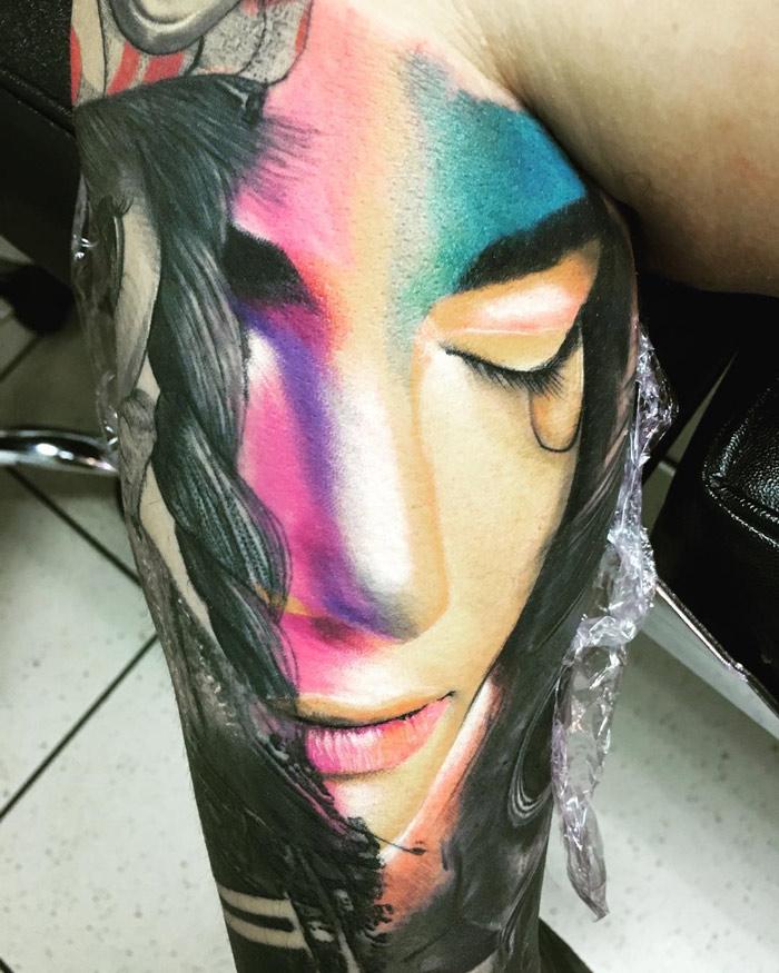 Colorful Portrait