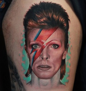 David Bowie Tattoo