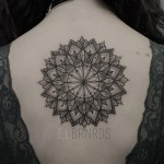 Large Back Mandala