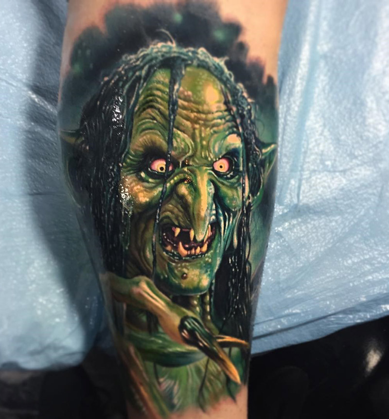 Meg Mucklebones tattoo