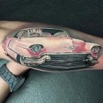 Pink Cadillac Tattoo