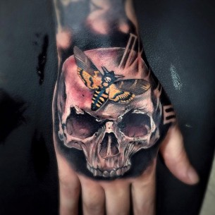 Skull & Death's-Head Hawkmoth