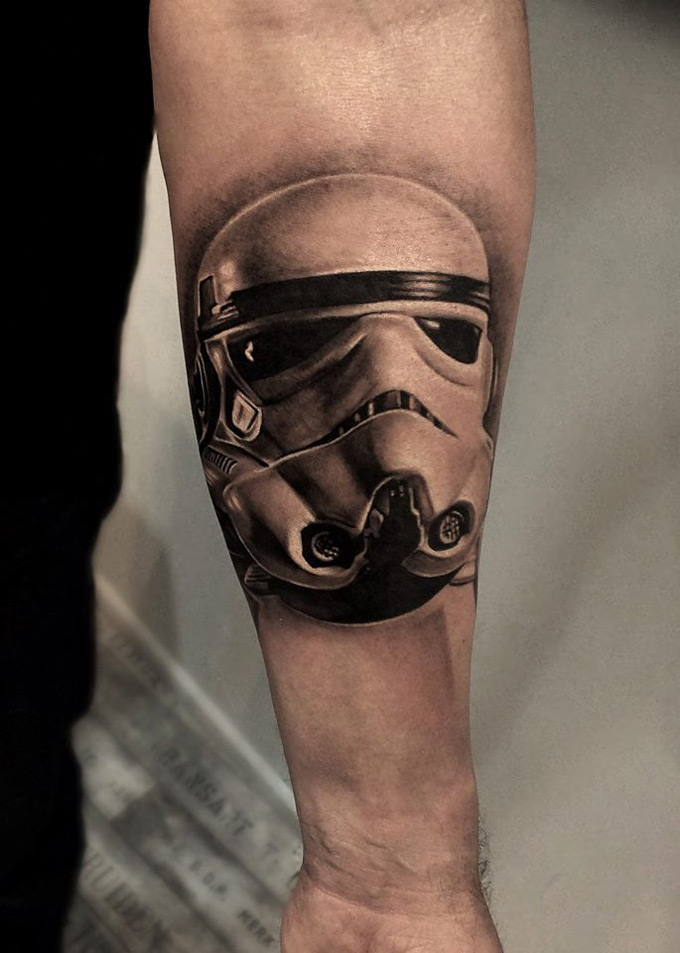 Stormtrooper tattoo