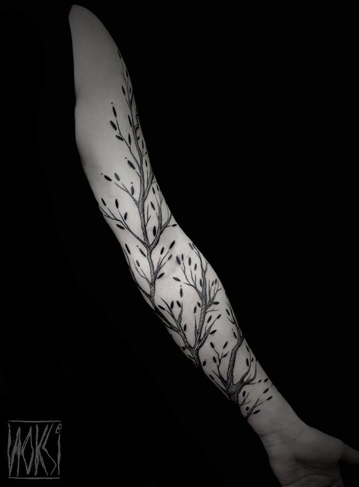 Branches tattoo