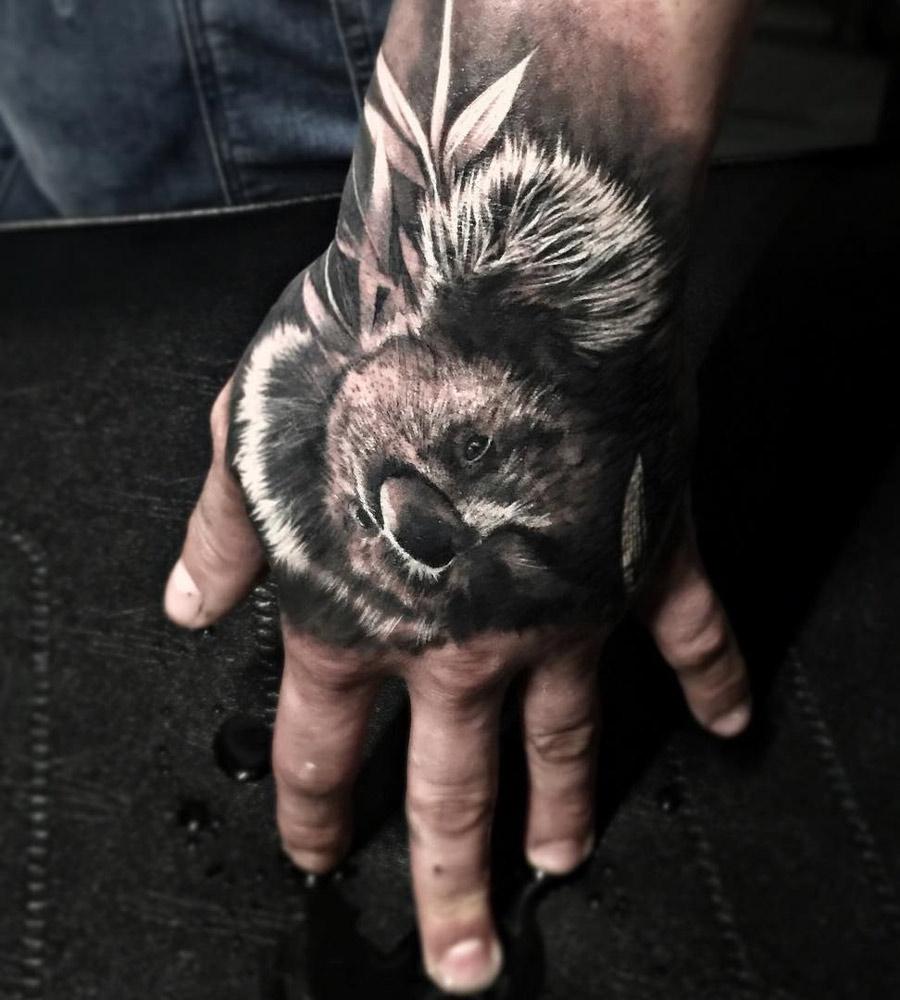 Koala Hand Tattoo