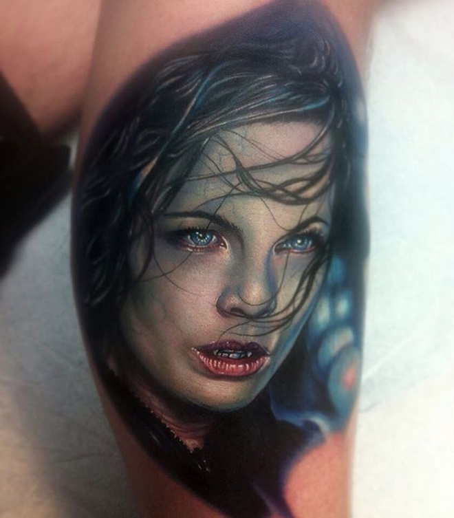 Selene Underworld Tattoo