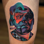 Raoul Duke Tattoo