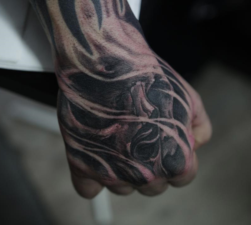 skull guys hand tattoo best tattoo design ideas. Black Bedroom Furniture Sets. Home Design Ideas
