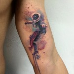 Spaceman Tattoo