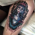 Corpse Bride tattoo