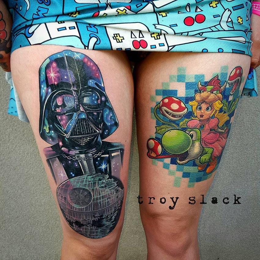 Darth Vader & Princess Peach