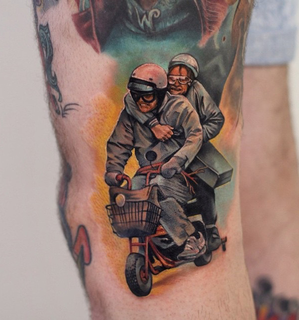 Dumb & Dumber tattoo