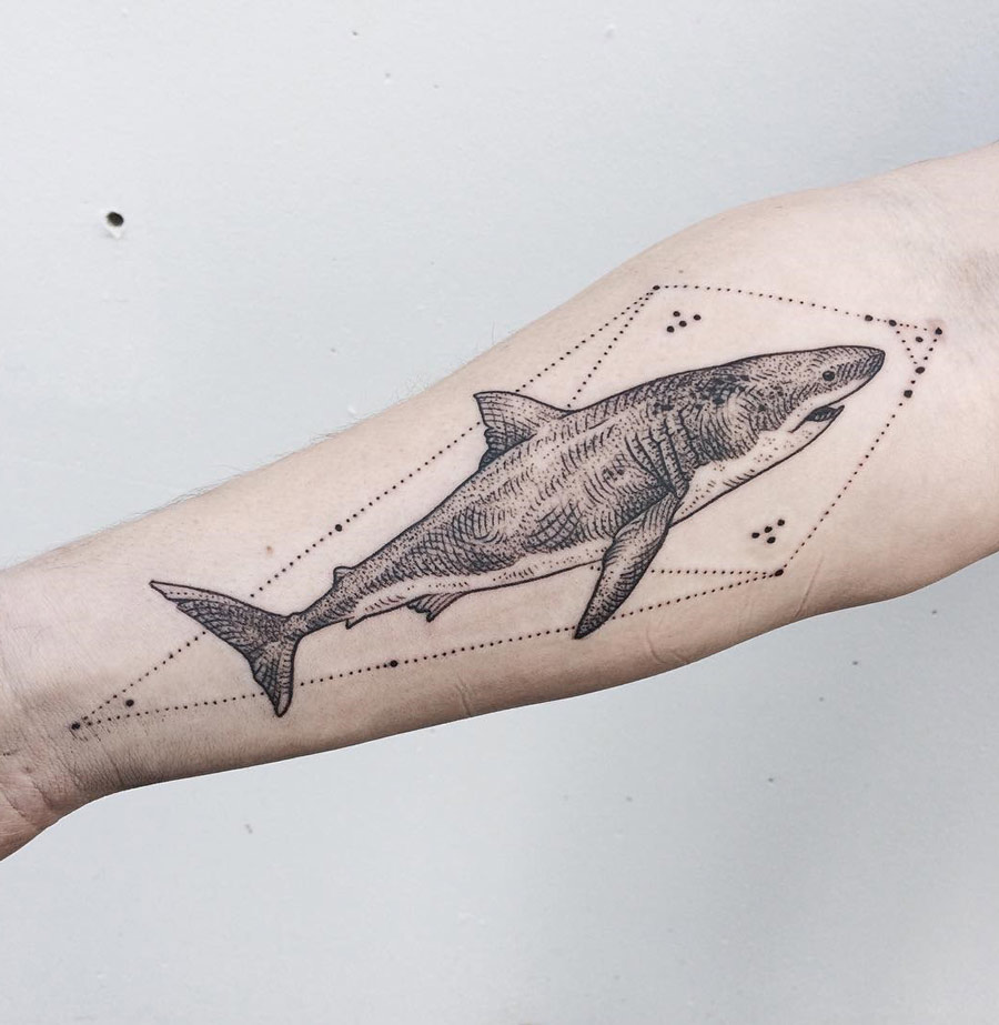 great white shark best tattoo design ideas rh tattoo ideas com great white shark tattoo designs great white shark tattoo designs