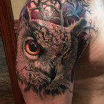 Realistic Owl Cover Up