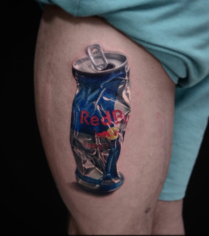 Red Bull Tattoo