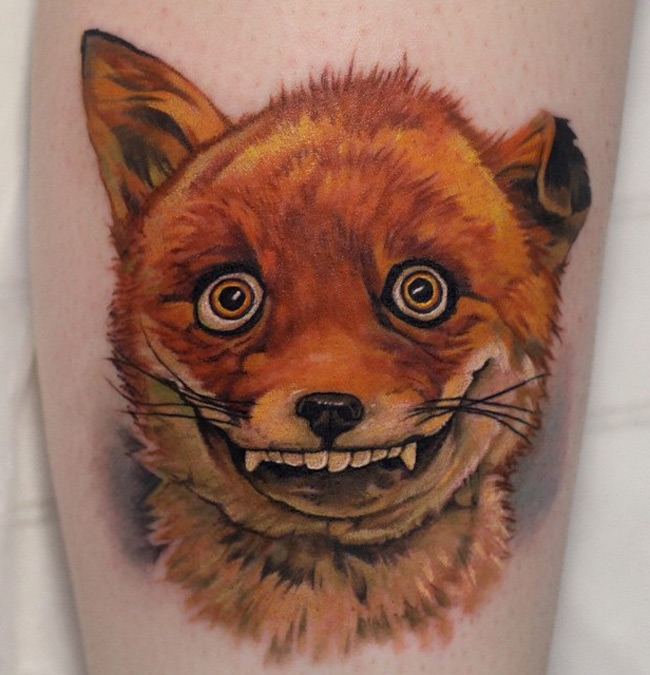 Goofy Fox Best Tattoo Design Ideas