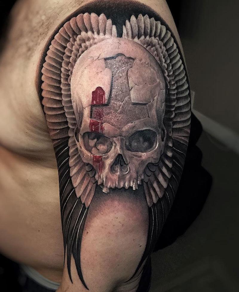Skull & Wings