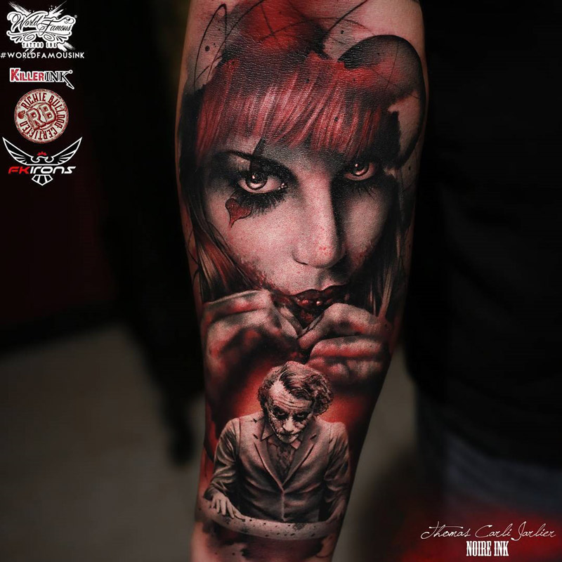 434e562c9 Harley Quinn and Joker | Best tattoo design ideas