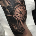 Pocket Watch & Skeleton Key
