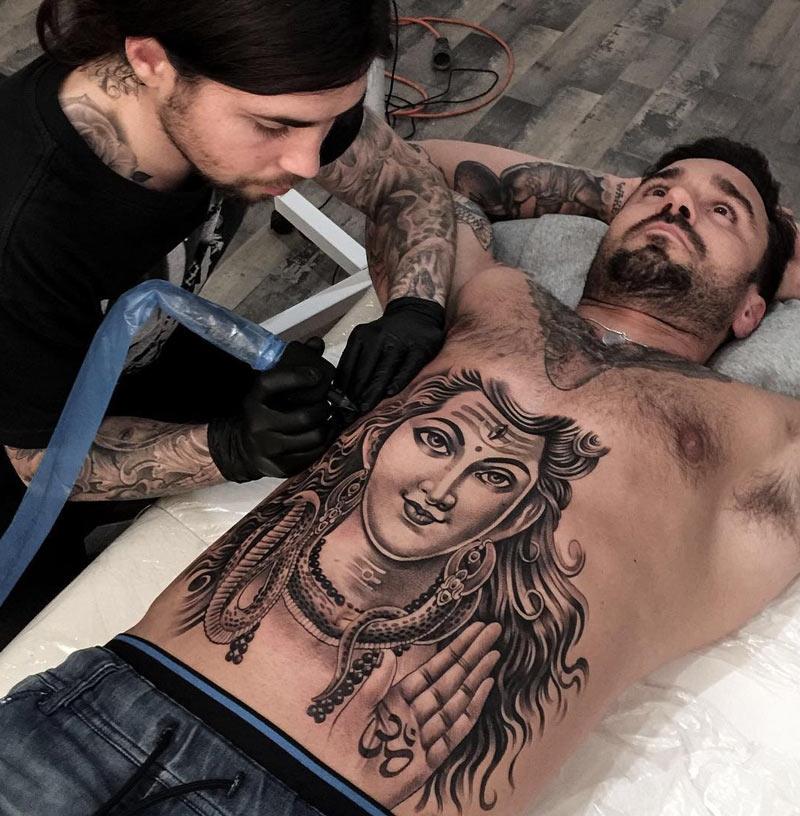 Tattooed Guys Enjoy Protected Banging