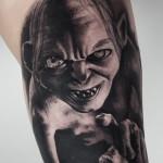 Gollum Tattoo