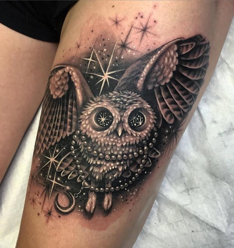 Owl Starry Eyes