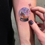 Snowglobe Tattoo