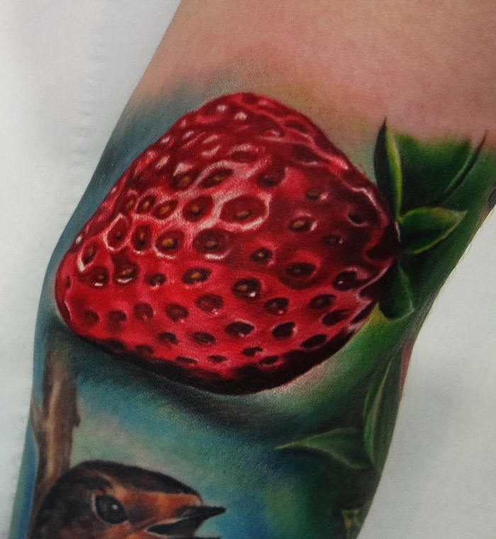 Strawberry Tattoo