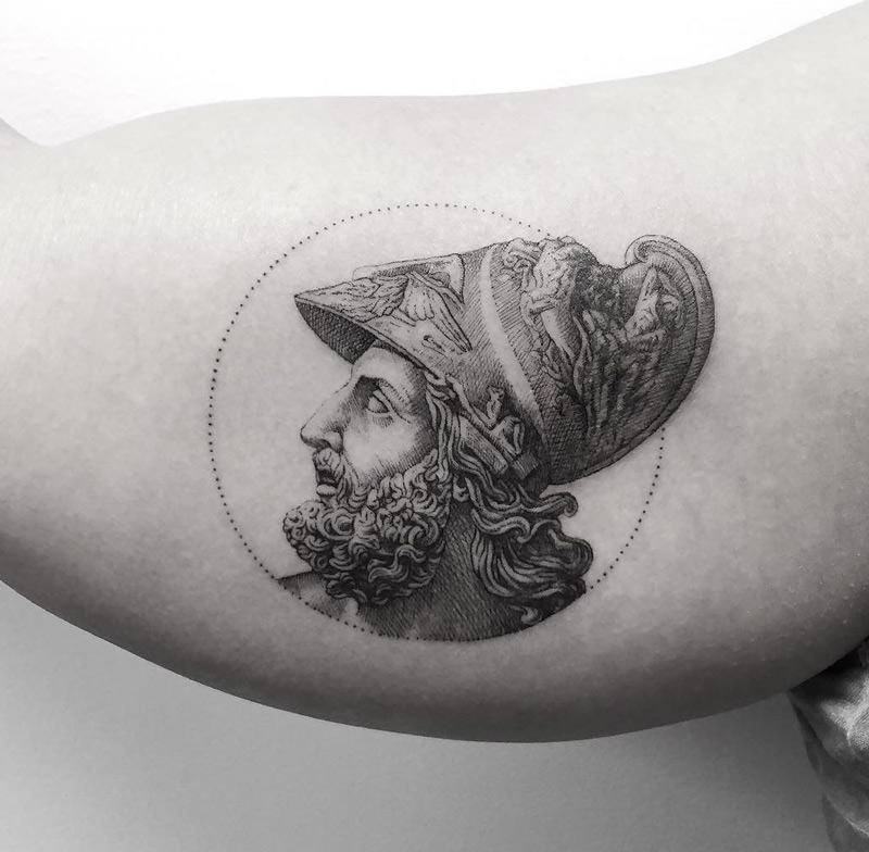 Menelaus Portrait