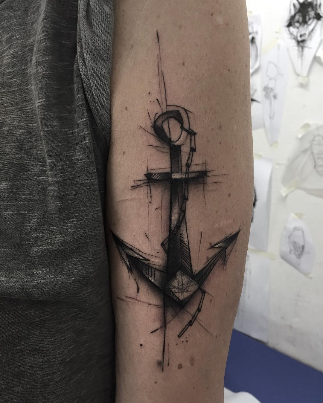 Anchor Arm Tattoo