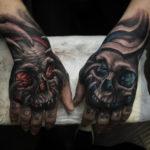 Hand Skulls