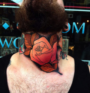Throat Rose