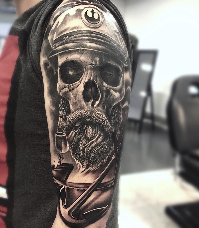 Sea Captain's Skull