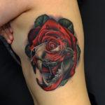 Tiger Skull & Rose Morph
