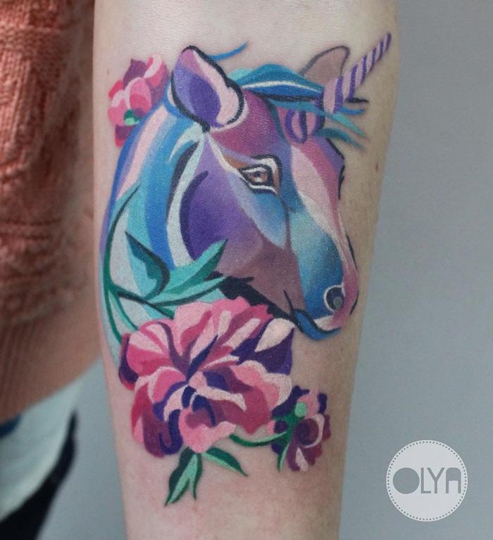 Unicorn & Peonies