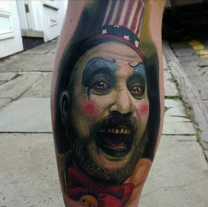Captain Spaulding Tattoo